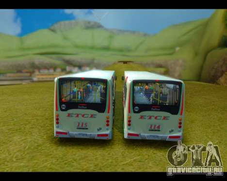 Italbus Bello 2016 115 ETCE для GTA San Andreas вид справа
