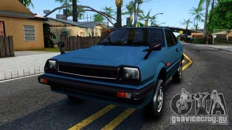 Honda Prelude 1980 для GTA San Andreas