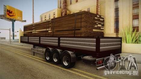 Bort Job Trailer для GTA San Andreas вид слева