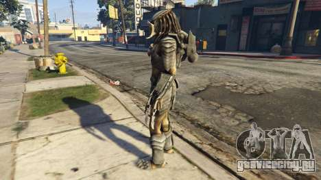 Predator 1.0 для GTA 5 второй скриншот
