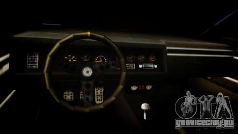 Vapid Terminator для GTA 4 вид изнутри