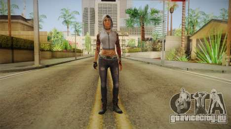 Dead Rising 3 Episode 2 DLC - Angel Hood Up для GTA San Andreas второй скриншот