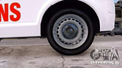 Volkswagen T5 Polish Ambulance для GTA 4 вид изнутри