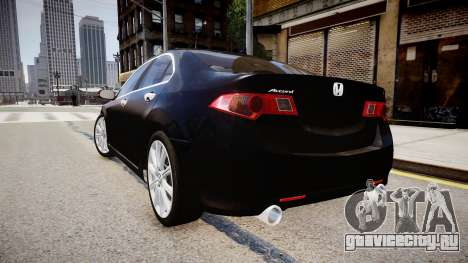 Honda Accord 2008 для GTA 4 вид слева