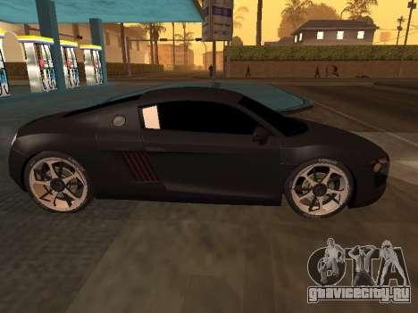 Audi R8 Armenian для GTA San Andreas вид справа