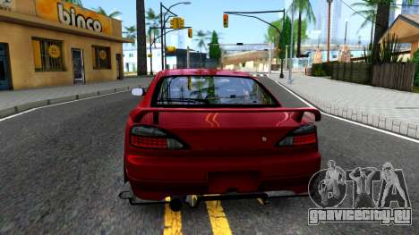 Nissan Silvia S15 BN-Sports для GTA San Andreas вид сзади слева