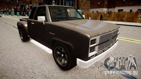 Bobcat Chevrolet для GTA 4 вид справа