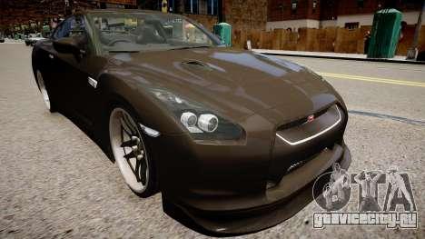 Nissan R35 GT-R для GTA 4