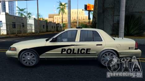 Ford Crown Victoria Generic 2010 для GTA San Andreas вид слева