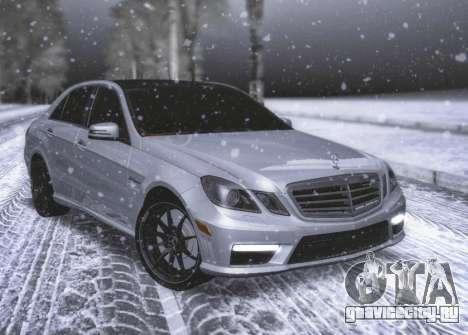 Mercedes-Benz E63 W212 V1.2 для GTA San Andreas вид слева