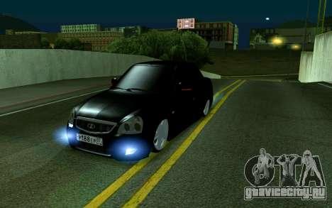 Priora 07 для GTA San Andreas