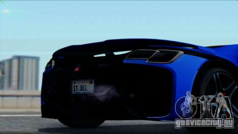 Spania GTA Spano 2016 для GTA San Andreas вид справа