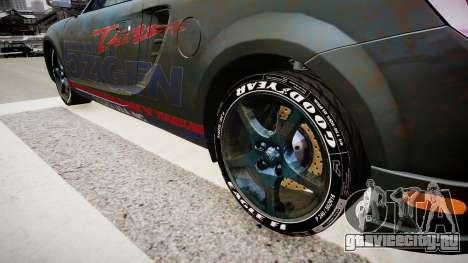 Toyota MRS2 для GTA 4 вид сзади