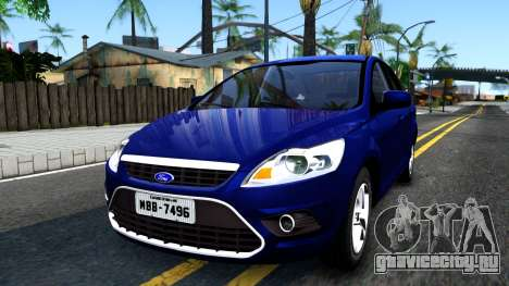 Ford Focus Sedan 2009 IVF для GTA San Andreas