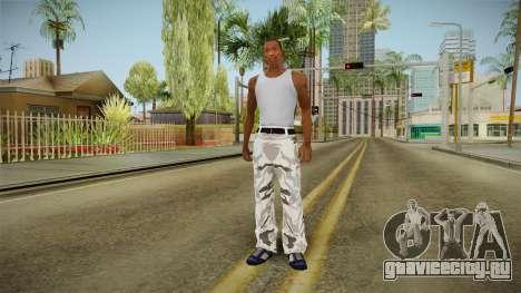 Трико зимний камуфляж для GTA San Andreas третий скриншот