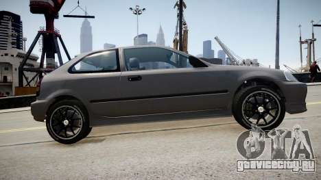 Honda Civic 1996 для GTA 4 вид слева