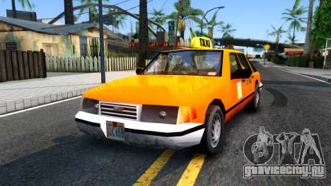 Taxi From LCS для GTA San Andreas