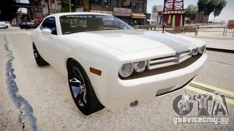Dodge Challenger Unmarked Police Car для GTA 4