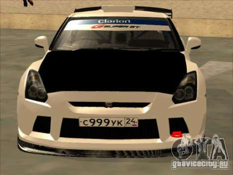 Nissan GT-R Drift JDM для GTA San Andreas вид слева