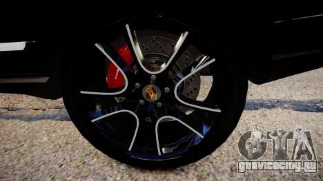 Porsche Cayenne Turbo S 2009 для GTA 4 вид сзади