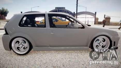 Volkswagen Golf EA v.2 для GTA 4 вид слева