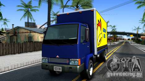 Mule From GTA 4 для GTA San Andreas