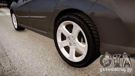 Peugeot 308 GTi 2011 для GTA 4 вид сзади