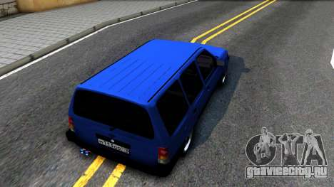 Opel Kadett для GTA San Andreas вид сзади