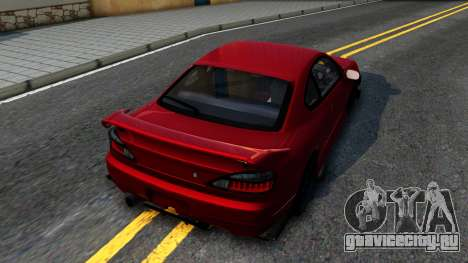 Nissan Silvia S15 BN-Sports для GTA San Andreas вид сзади