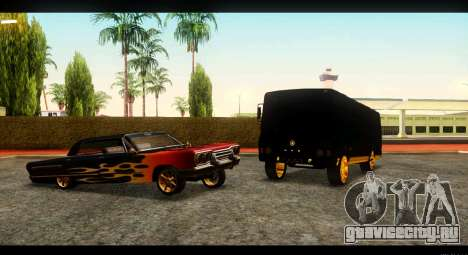 ПАЗ 4234 Elite Gold для GTA San Andreas вид слева