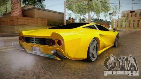 GTA 5 Ocelot Penetrator для GTA San Andreas вид слева