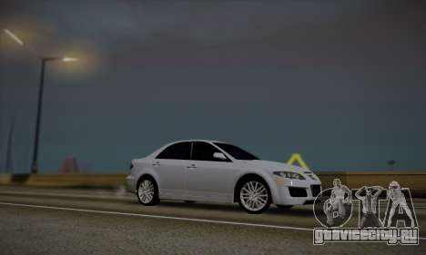 Mazda 6 MPS для GTA San Andreas вид слева