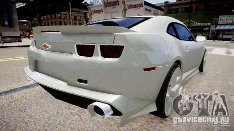 Chevrolet Camaro VR для GTA 4 вид слева