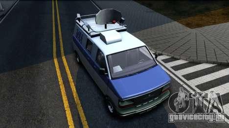 GTA V Declasse Burrito News для GTA San Andreas вид справа