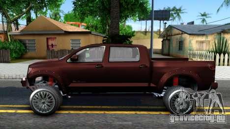 GTA V Vapid Contender для GTA San Andreas вид слева