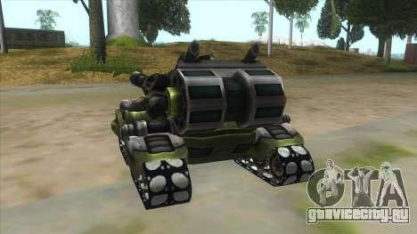 New RC Tiger для GTA San Andreas вид сзади слева