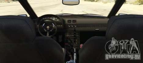 Karin Kuruma Race Spec для GTA 5 вид сзади слева