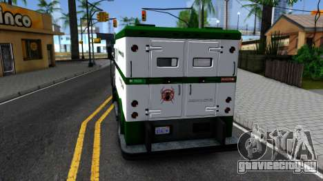 AVPGameProtect Security Car для GTA San Andreas вид сзади слева