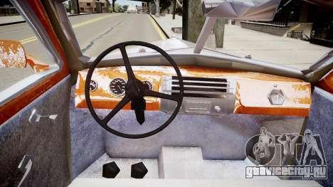 Buick Coupe 1941 для GTA 4 вид изнутри