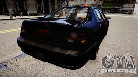 хХх Taxi для GTA 4 вид сзади слева