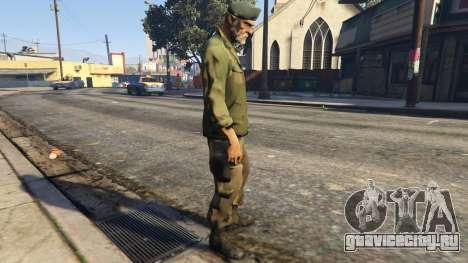 Left4Dead 1 Bill для GTA 5 второй скриншот