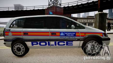 Metropolitan Police 2002 IRV для GTA 4 вид слева