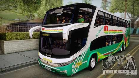 Marcopolo Paradiso G7 1800 DD Quirquincho для GTA San Andreas