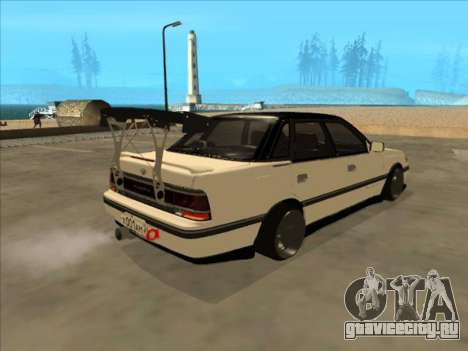 Subaru Legacy DRIFT JDM 1989 для GTA San Andreas вид слева