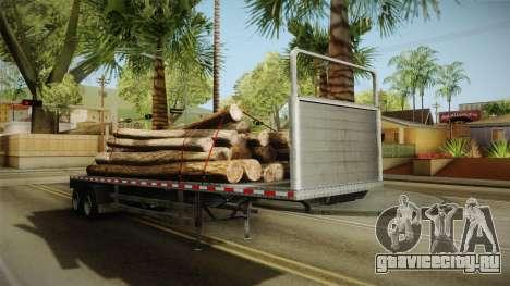 GTA 5 Log Trailer v2 для GTA San Andreas