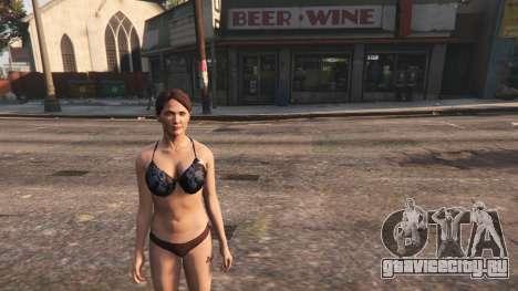 Topless Amanda De Santa для GTA 5