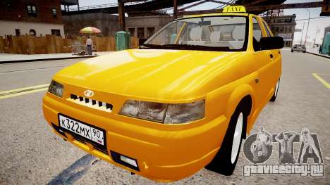 ВАЗ 2112 Такси для GTA 4