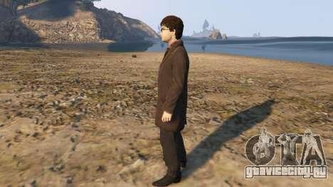 Harry Potter Suit для GTA 5 второй скриншот
