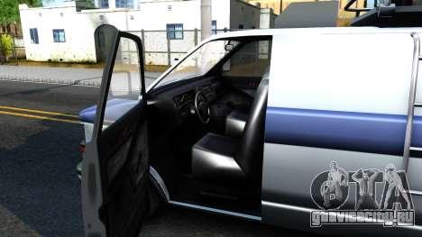 GTA V Declasse Burrito News для GTA San Andreas вид изнутри