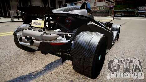 KTM X-Bow (GRID 2) для GTA 4 вид сзади слева